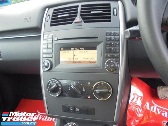2010 MERCEDES-BENZ B-CLASS 1.7 Facelift W245 NICENO6663