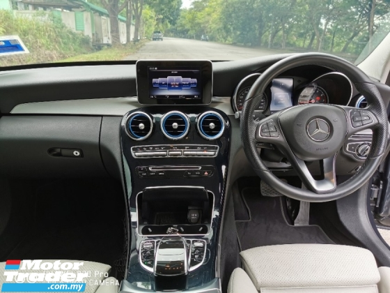 2016 MERCEDES-BENZ C-CLASS C180 AVANTGARDE (A) - FULL SERVICE RCD LIKE NEW