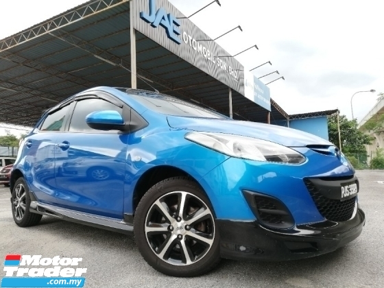 2010 MAZDA 2 1.5 HATCH BACK V-SPEC 1-OWNER LOW MILEAGE
