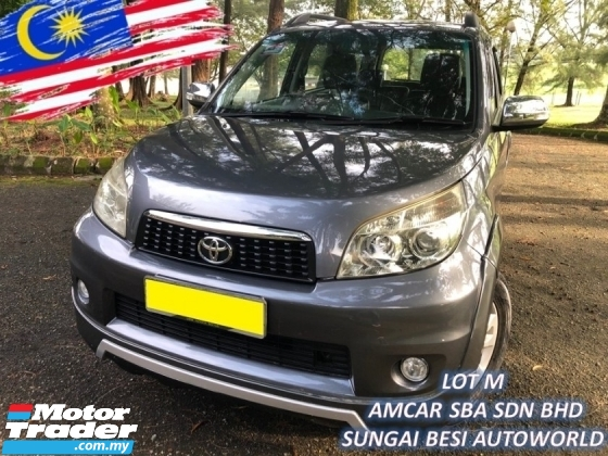 2015 TOYOTA RUSH 1.5 S FACELIFT (A) HIGH SPEC LEATHER 1 OWNER