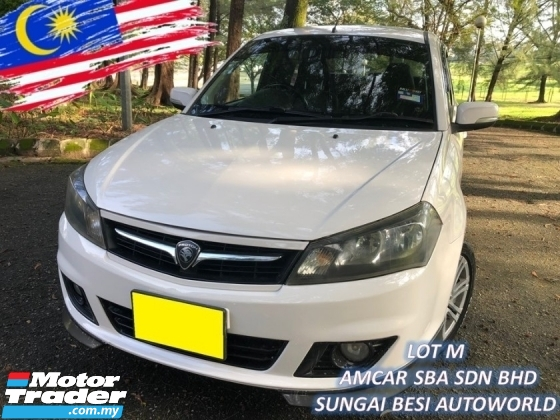 2013 PROTON SAGA 1.6 FLX SE (A) LEATHER SPECIAL EDITION 1 OWNER
