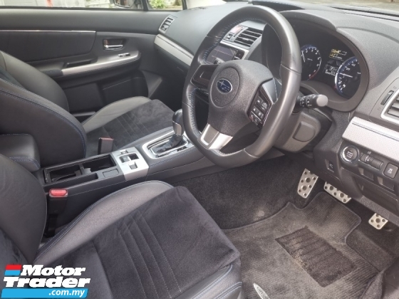 2015 SUBARU LEVORG Subaru LEVORG 2.0 GT-S  with STI black rims