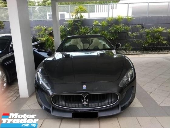 2013 MASERATI GRANCABRIO MC WELL MAINTAINED, GENUINE  (A) 4.7 2013
