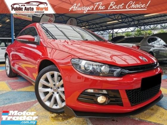 2011 VOLKSWAGEN SCIROCCO Volkswagen SCIROCCO 1.4 TSi LowMiles 1Owner WRRNTY