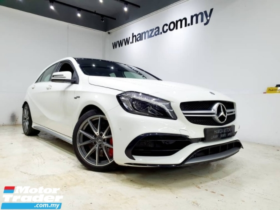 2017 MERCEDES-BENZ A45 AMG 4MATIC RECARO UNREG
