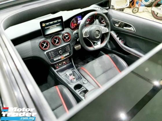 2017 MERCEDES-BENZ A45 AMG 4MATIC RECARO UNREG
