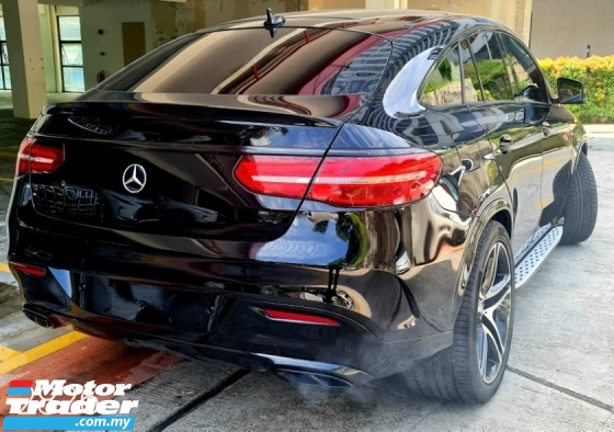 2016 MERCEDES-BENZ GLE 450 3.0 AMG Coupe