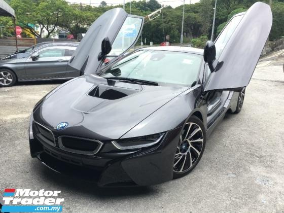 2017 BMW I8 1.5 Turbo 357Hp HUD & Harman Kardon