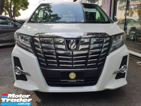 2017 TOYOTA ALPHARD 2.5 SC+PILOT SEAT+PRICE WITH SST