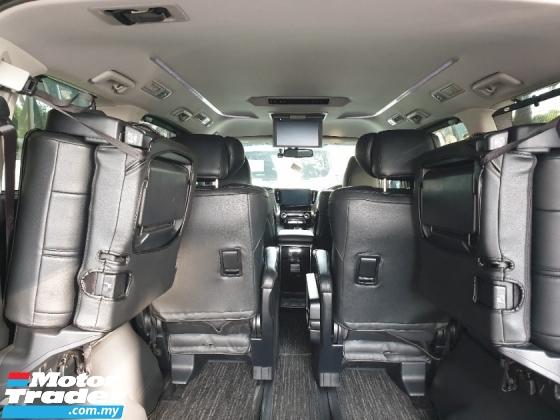 2017 TOYOTA ALPHARD 2.5 SC+PILOT SEAT+PRICE WITH SST