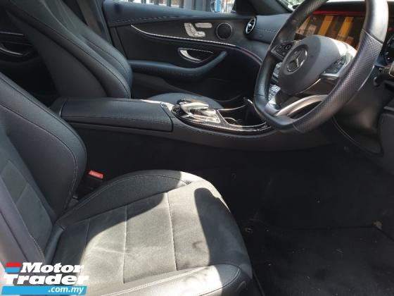 2017 MERCEDES-BENZ E-CLASS E200 AMG W213+360 CAMERA +POWERTRUCK