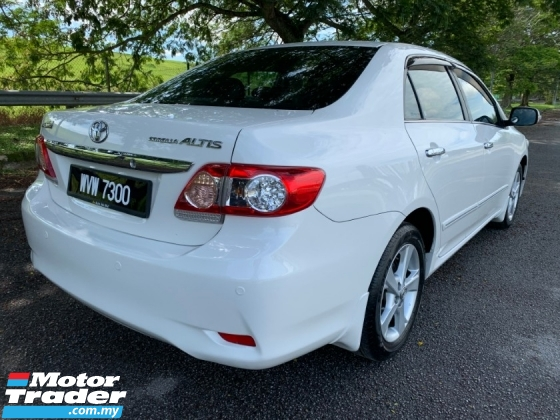 2012 TOYOTA COROLLA ALTIS 1.8 G (A) DVVTi 1 Lady Owner Only TipTop Condition