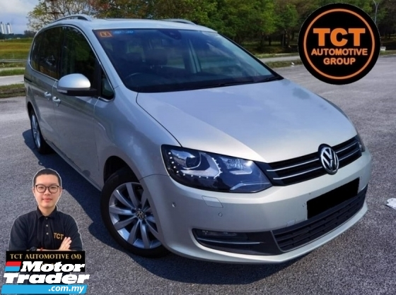2014 VOLKSWAGEN SHARAN 2.0 TECH FULL SERVICE RECORD SUNROOF POWER BOOT