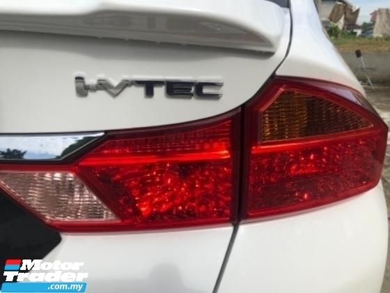 2017 HONDA CITY 1.5 V i-VTRC (A) UDR WARANTY OTR PRICE 90% NEW