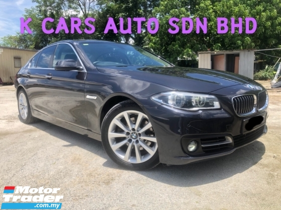 2015 BMW 5 SERIES 520I 2.0 (A) FACELIFT LCI GOOD CONDITION E/SEAT