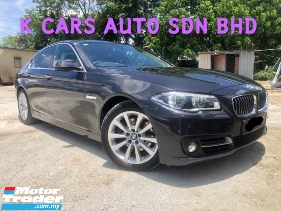 2015 BMW 5 SERIES 520I 2.0 (A) FACELIFT LCI GOOD CONDITION E/SEAT