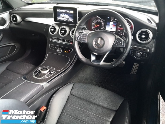 2018 MERCEDES-BENZ C-CLASS C200 2.0 AMG Coupe INC SST Panoramic Roof Unreg