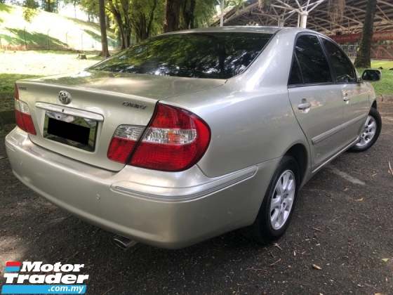 2004 TOYOTA CAMRY 2.0 E (A) LEATHER 1 DIRECT OWNER XV30