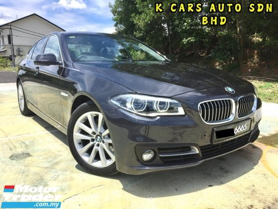 2015 BMW 5 SERIES 520I 2.0 Facelift LCI Sedan ONTHEROAD PRICE