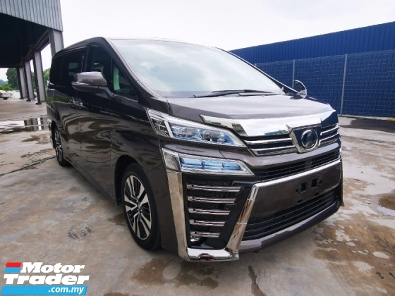 2018 TOYOTA VELLFIRE 2.5 ZG WITH SUNROOF/SPECIAL COLOR - JP UNREG