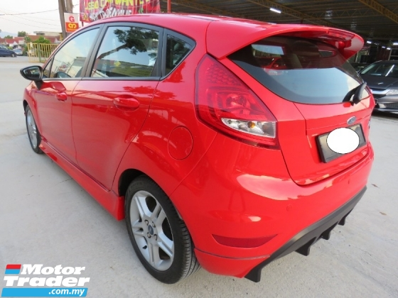 2014 FORD FIESTA 1.6L (A) SPORT NICE NO PLATE 4488 HIGH LOAN