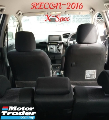 2016 TOYOTA WISH 1.8X S SPEC RECON2016 O.T.R RM93,888.88 interest2.49% ~installment rm1,055monthy