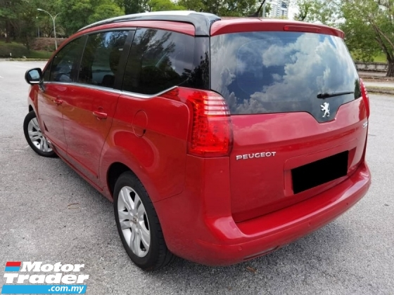 2012 PEUGEOT 5008 STANDARD 1.6 CC PANROOF LEATHER SEAT FREE WARRANTY