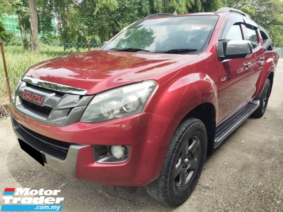 2014 ISUZU D-MAX 2.5L 4X4 DOUBLE CAB CHEAPEST IN TOWN