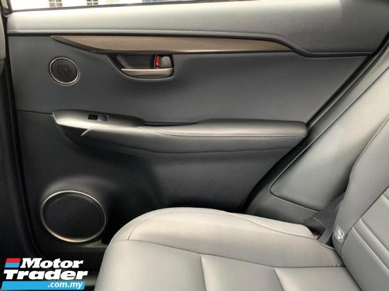 2015 LEXUS NX 200T SUV PRECRASH HUD BSM