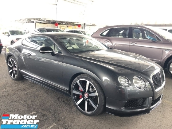 2015 BENTLEY CONTINENTAL GT Coupe V8 S Mulliner Package 4.0 Twin Turbo 528hp Naim Surround PRO Unreg