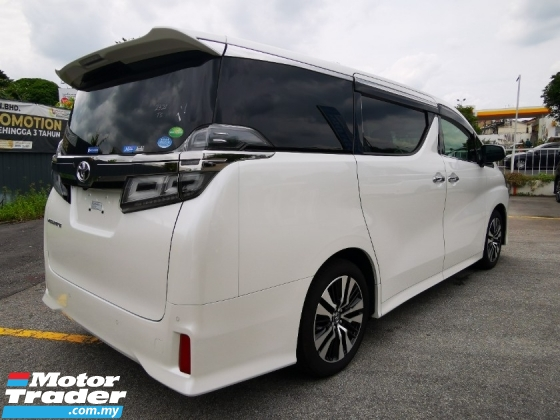 2018 TOYOTA VELLFIRE 2.5 ZG With DIM - Buy From Pretty Carrie-UNREG