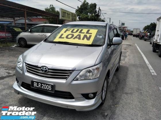 2012 TOYOTA INNOVA 2.0 G (A) F/Loan True Year 2012
