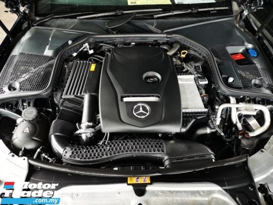 2018 MERCEDES-BENZ C-CLASS C200 Coupe AMG Line