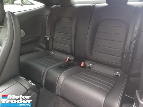 2017 MERCEDES-BENZ C-CLASS 200 Coupe AMG Line Premium Plus Unregister