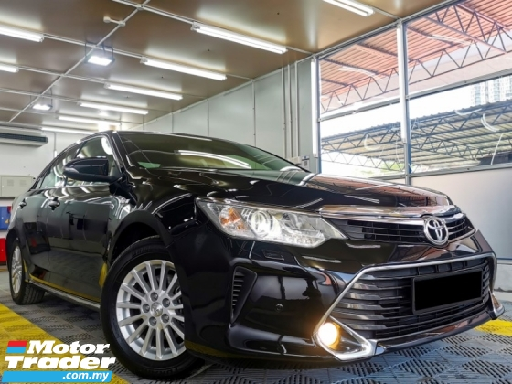 2016 TOYOTA CAMRY Toyota CAMRY 2.0 FACELIFT F/SERVICE RECORD WARRNTY