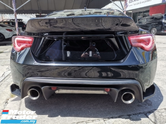 2017 TOYOTA 86 Toyota 86 GT 2.0 Manual New facelift Scion bodykit