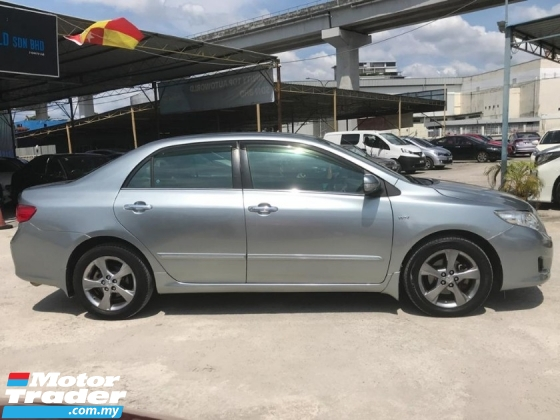 2010 TOYOTA COROLLA ALTIS 1.8 G LEATHER SEAT FOC WARRANTY TIP TOP CONDTION