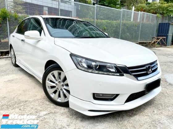 2014 HONDA ACCORD 2.0 VTi-L AT I VTEC 2 YEAR WARRANTY LOW MILEAGE