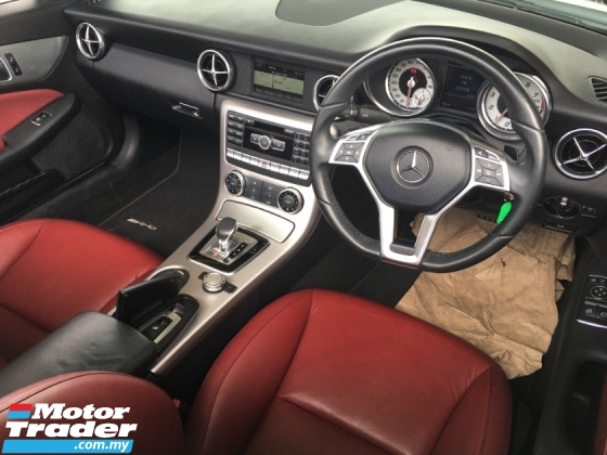 2015 MERCEDES-BENZ SLK SLK200 2.0 Turbocharged 9G Convertible EDTITION In