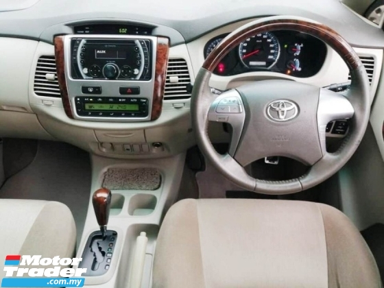 2015 TOYOTA INNOVA 2.0 G FACELIFT FAMILY USE SENANG LOAN TINGGI