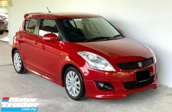 2014 SUZUKI SWIFT 1.4 (A) Facelift High Spec Sporty Model