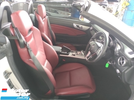 2015 MERCEDES-BENZ SLK 2.0 AMG RED COLOUR BUCKET SPORT SEATS PRICE INCLUSIVE SST FREE WARRANTY