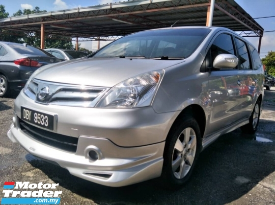 2012 NISSAN GRAND LIVINA 1.8 (A) 100 % Full Loan True 2012