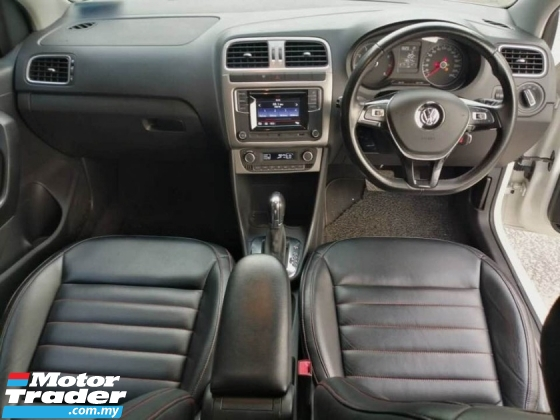 2018 VOLKSWAGEN POLO 1.6 SPORT LINE  CARKING LEATHER SEAT