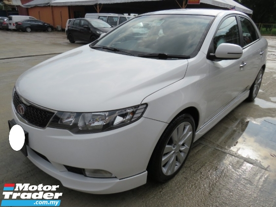 2013 KIA FORTE 1.6 (A) SX 6 SPEED AUTO HIGH SPEC HIGH LOAN L/NEW