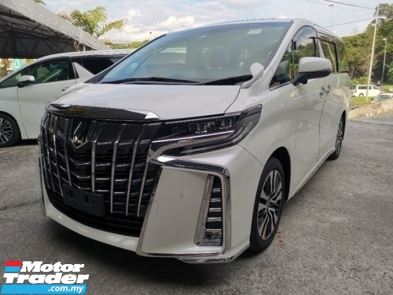 2019 TOYOTA ALPHARD 2.5 SC FULL LEATHER SUN ROOF RECON 2 YEAR WARRANTY