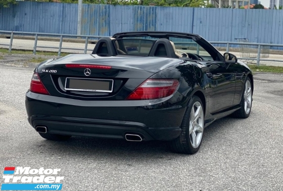 2015 MERCEDES-BENZ SLK SLK200 BLUE EFFICIENCY