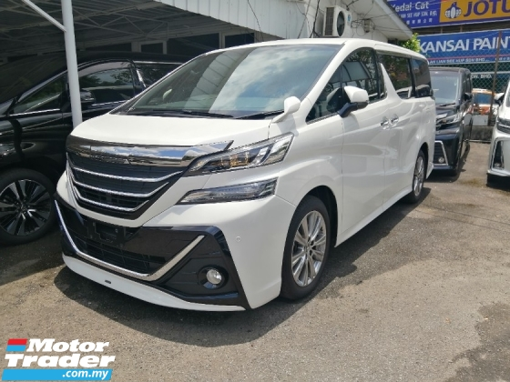 2016 TOYOTA VELLFIRE 2.5 ZA GOLDEN EYE MODELLISTA UNREGISTERED