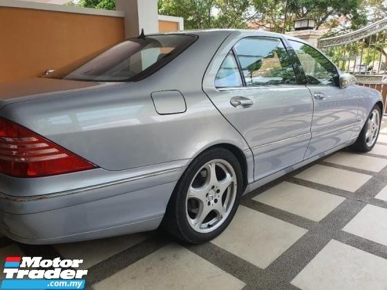 1999 MERCEDES-BENZ S-CLASS S430