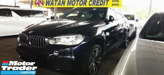 2016 BMW X6 M SPORT UNREG FULLSPEC.40D.TRUE YEAR CAN PROVE.HALF SST.SUNROOF.HARMAN KARDON.POWER BOOT.LED N ETC.